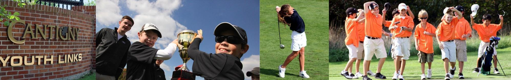 Cantigny Youth Links website header images
